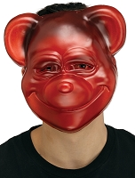 Red Goofy Gummy Bear Mask