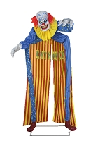 10 Ft Looming Clown Animated Archway Prop