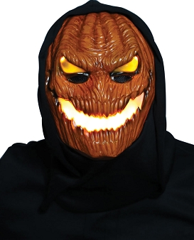 Flame Fiend Hallows Hellion Mask With Hood