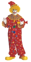 Clown Jumpsuit Costume