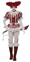 Sadistic Clown Adult Costume- Medium