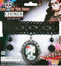 Day Of Dead Choker