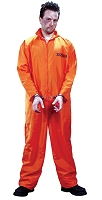 Got Busted Orange Jumpsuit