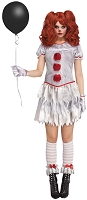 Carnevil Clown Adult Costume- Large