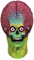 Soldier Martian Full Head Deluxe Mask- Mars Attacks