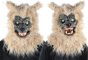 Animated Blonde Werewolf Mask With Sound