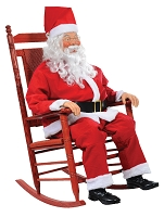 Rocking Chair Santa Animated Prop