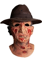 Deluxe Freddy Krueger Mask With Fedora Hat- A Nightmare On Elm Street
