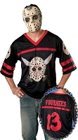 Jason Mask And Jersey Adult Set