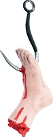 Meat Hook In Foot Prop