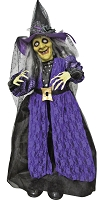 31 Inch Standing Animated Talking Witch