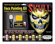 Wolfe Brothers Skull Makeup Kit