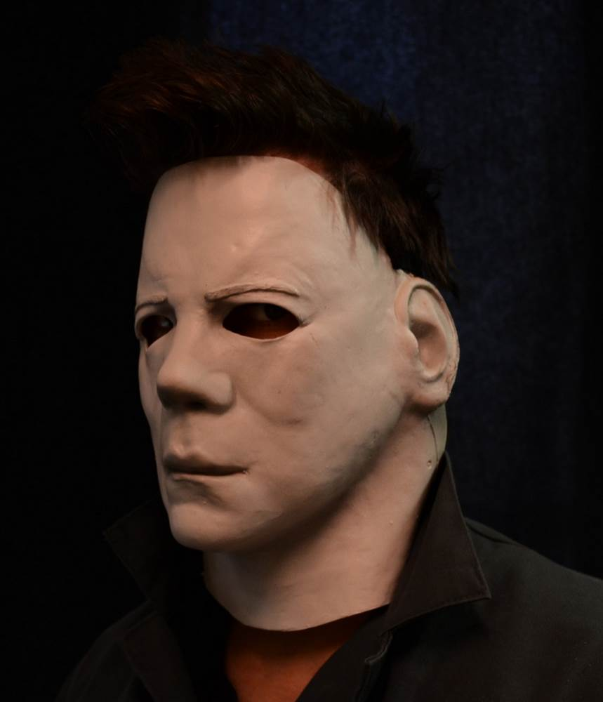 Official Halloween II Michael Myers Face Mask