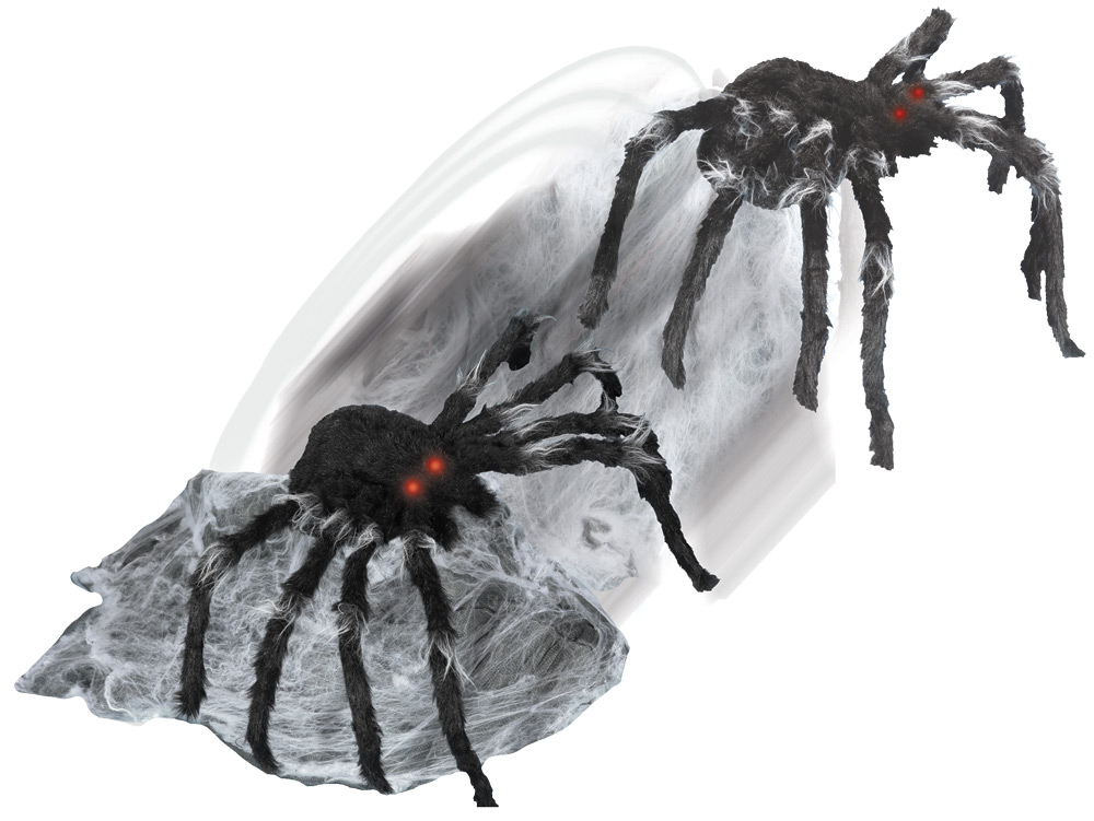 Jumping Spider Animated Prop-Black