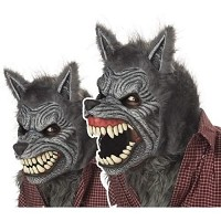 Ani-Motion Werewolf Mask