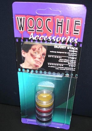 Woochie Injury Makeup Stack