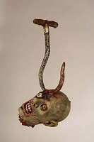 Ghoul Head on Hook