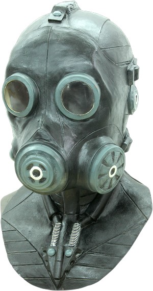 Deluxe Gas Smoke Mask