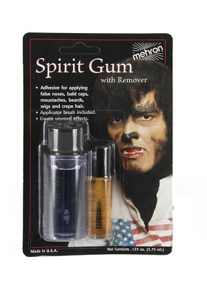 Mehron Spirit Gum with Remover