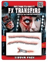3D FX Zipper Face Transfer