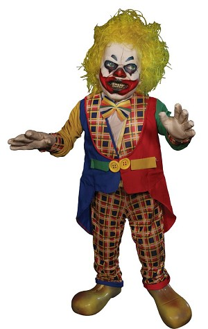 Whacko Animated Clown  Prop