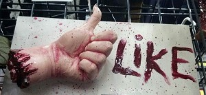"Thumbs Up ""Like"" Sign"