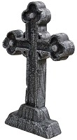 Weathered Celtic Cross Tombstone