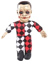 Haunted Hellequin Doll