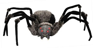 Giant Spider with Light Up Eyes