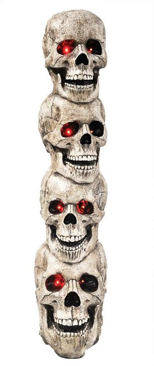 Skulls Tower Animated Prop