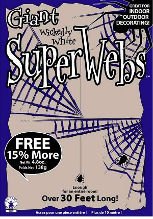 Stretchable Spiderwebs - Giant