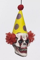Hanging Clown Head Prop