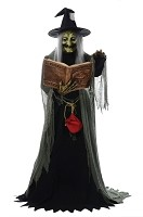 Spell Speaking Witch Animated Prop
