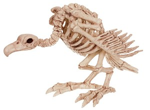 Crazy Bonez Skeleton Vulture Prop