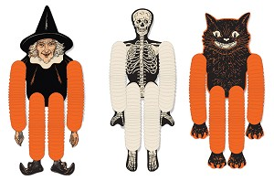 Vintage Look Halloween Tissue Dancer Three Pack