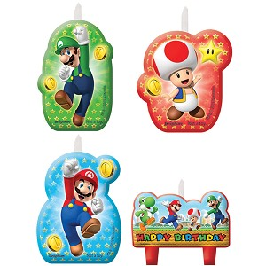 Candle Set- Super Mario Brothers