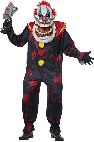 Die Laughing Adult Clown Costume