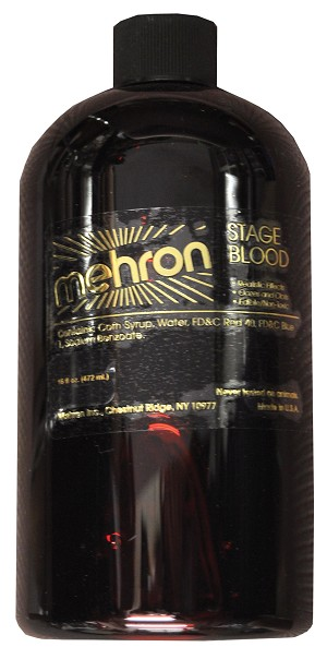 Mehron 16oz Stage Blood