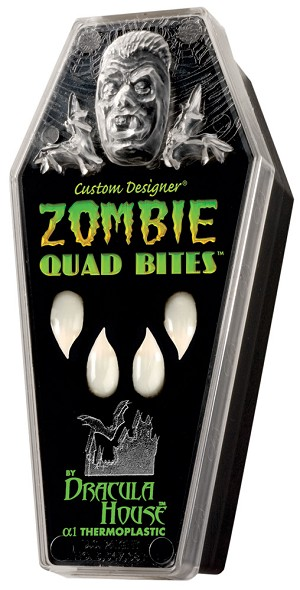 Dracula House Zombie Bites Quad- Medium