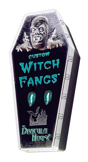 Dracula House Witch Fangs- Large