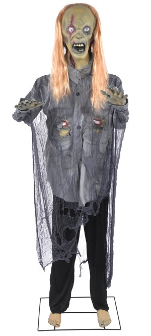 6 Foot Lifesize Zombie Prop