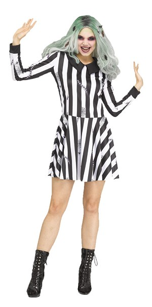 Ghost Girl Adult Costume Medium/ Large- Beetlejuice