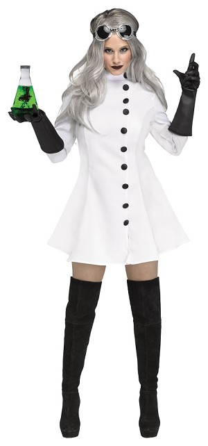 Adult Mad Scientist Costume- Medium