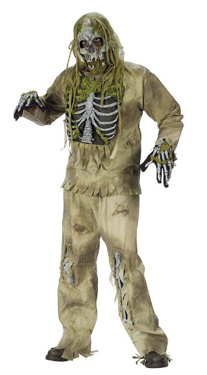 Zombie Skeleton Costume