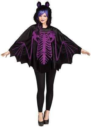 Adult Bat Poncho