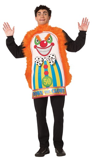 Down The Clown Costume Adult