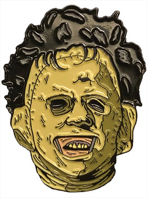 Leatherface Killer Enamel Pin- The Texas Chainsaw Massacre