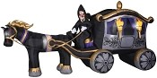 13 Ft Photorealistic Airblown Reaper with Carriage