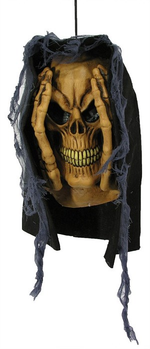 Skeleton Head Window Prop