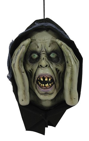 Male Zombie Window Monster Prop